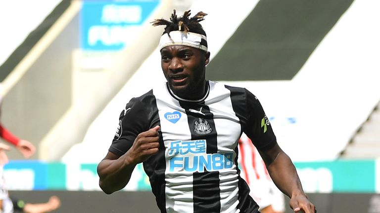 Allan Saint-Maximin impressed once more for Newcastle on their return to action