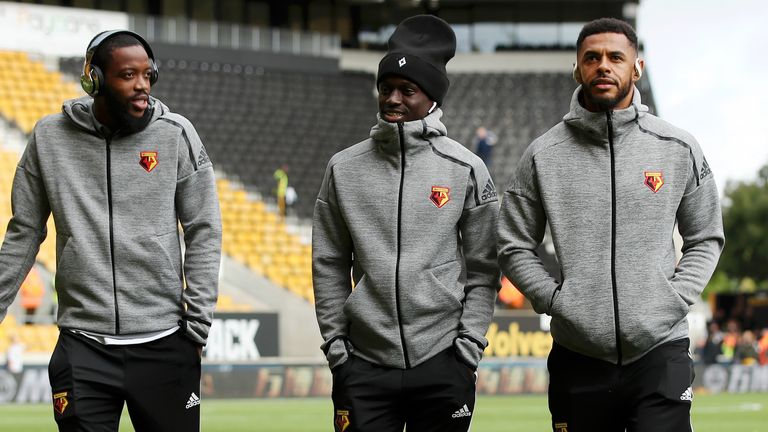 Watford's Nathaniel Chalobah, Domingos Quina and Andre Gray were all been dropped