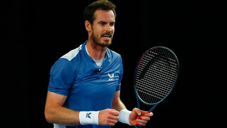 Andy Murray defeats Liam Broady on his return to action at the ...
