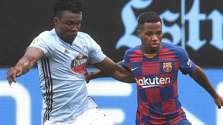 Ansu Fati will hope to develop in a conducive environment at the Nou Camp