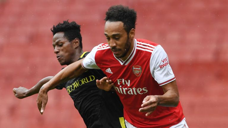 Arsenal were beaten 3-2 by Brentford in their warm up match at the Emirates.