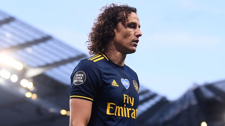 David Luiz has emerged as a key figure under Arteta
