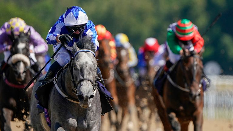 Art Power ran out an impressive winner as racing returned at Newcastle