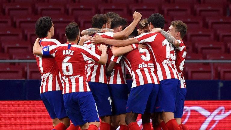 Atletico Madrid edged out Alaves to consolidate third in La Liga
