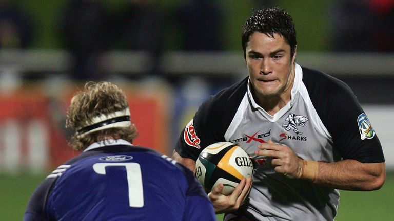 Born in Durban, South Africa, Barritt began his professional career with the Sharks in 2006