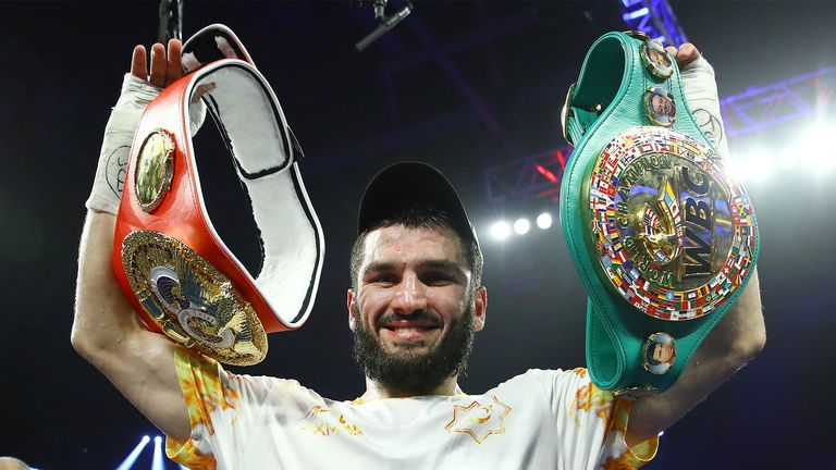 Beterbiev is IBF and WBC light-heavyweight champion