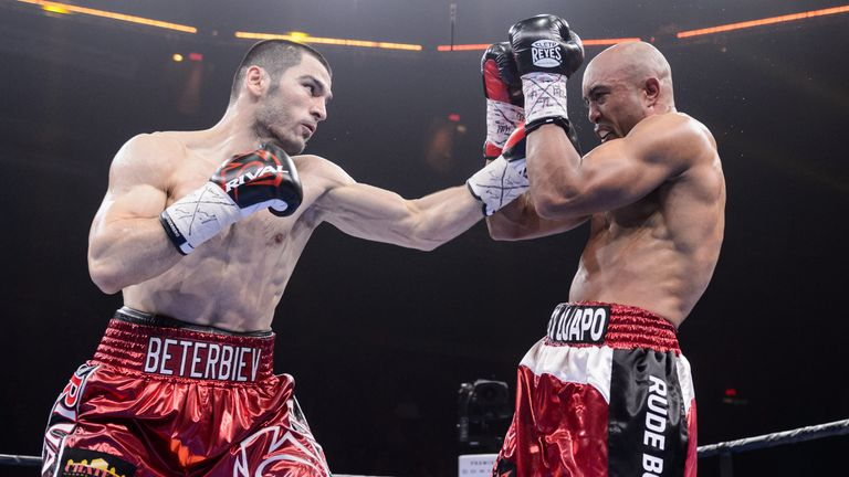 Beterbiev's entire pro career has been in North America