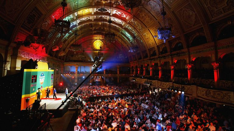 For the first time since the tournament's inception, the World Matchplay will not be held at the Winter Gardens