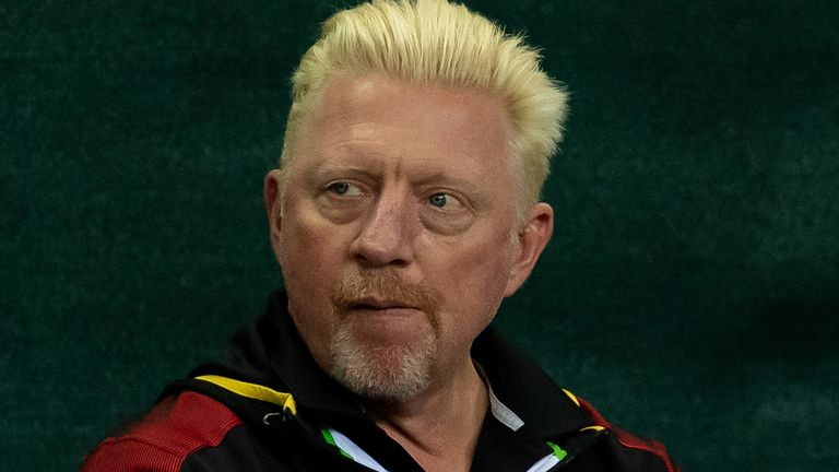 Boris Becker accused Kyrgios of being a 'rat' for publicly talking about Zverev