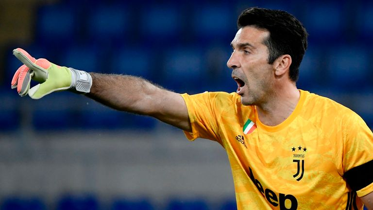Buffon will be 43-years-old when his new deal comes to an end