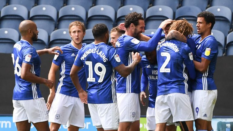 Cardiff moved into sixth place after beating Preston