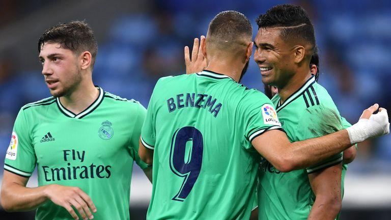 Casemiro put Real Madrid ahead