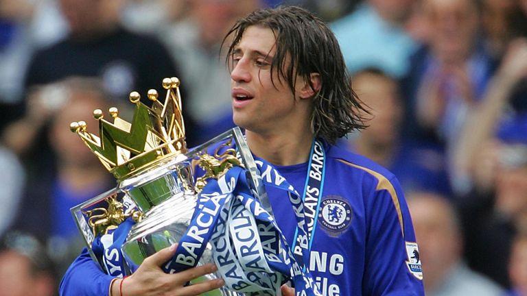 Hernan Crespo spent five years at Chelsea between 2003 and 2008