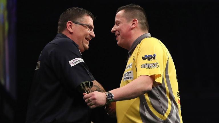 Dave Chisnall and Gary Anderson