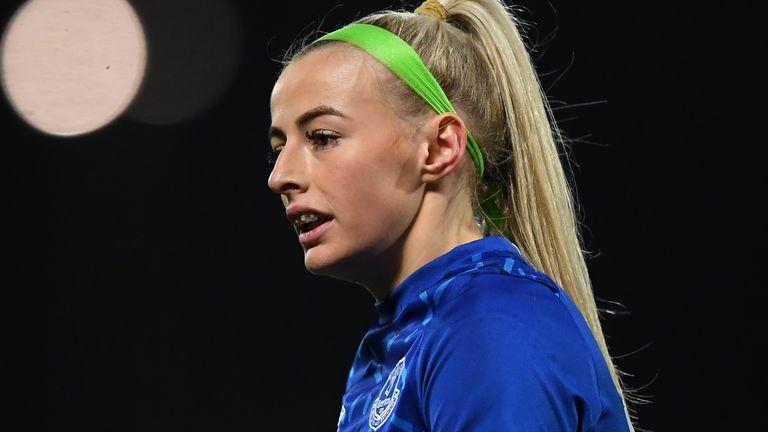 England striker Chloe Kelly has left Everton