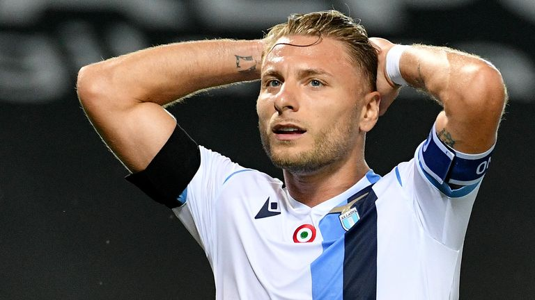 Lazio missed the chance to return within a point lf league leaders Juventus