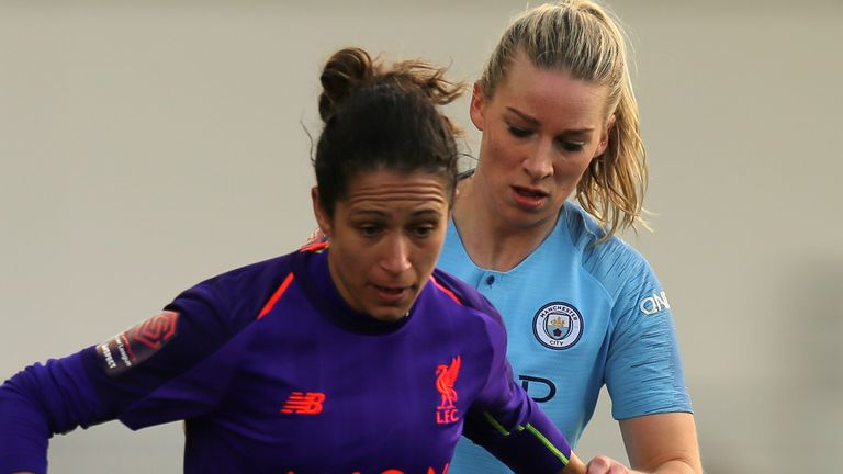 Courtney Sweetman-Kirk left Liverpool in May, at the end of her  two-year contract