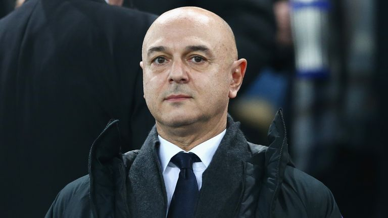 Daniel Levy admits the COVID-19 pandemic has presented difficult financial problems for the club