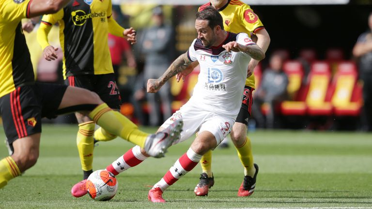 Danny Ings scores for Southampton against Watford