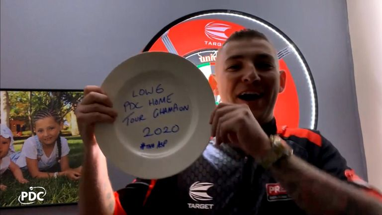 The world No 1 did not feature in the PDC Home Tour, which was won by Nathan Aspinall