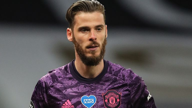 David de Gea was at fault for Tottenham's goal on Friday