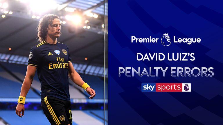 David Luiz's penalty errors
