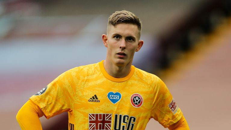 Chris Wilder says he is confident of extending Dean Henderson's loan deal until the end of the season
