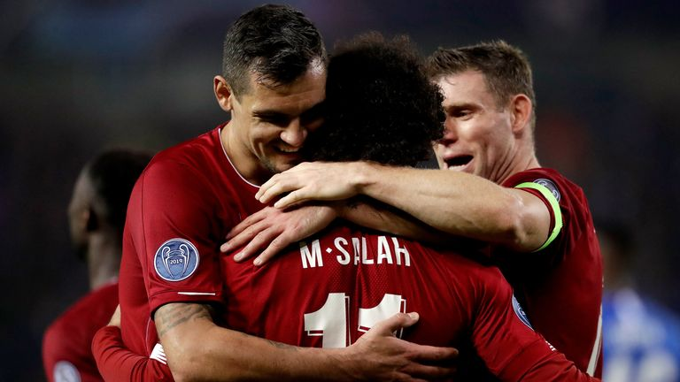 Lovren has a close relationship with Mohamed Salah