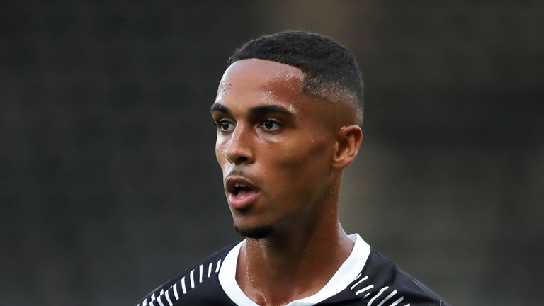 Max Lowe passed his medical on Sunday after being omitted from Derby's squad for Saturday's EFL game