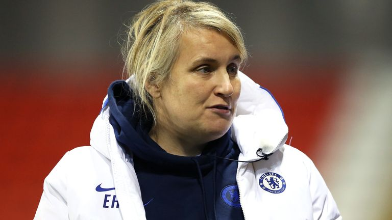 Emma Hayes was appointed Chelsea Women manager in August 2012