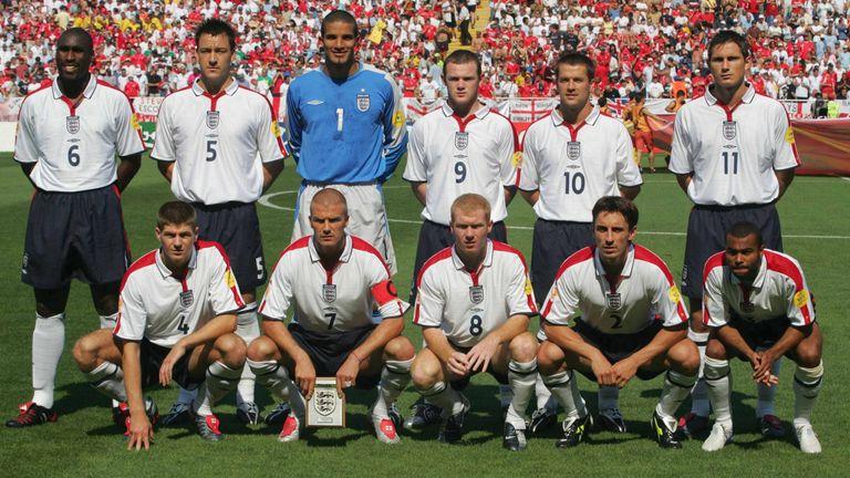 England, Euro 2004