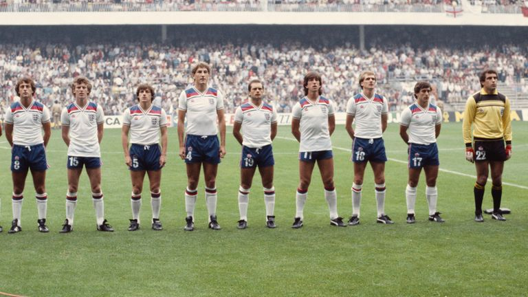 Thompson believed England had a better chance at the 1982 World Cup than the Euros in 1980.