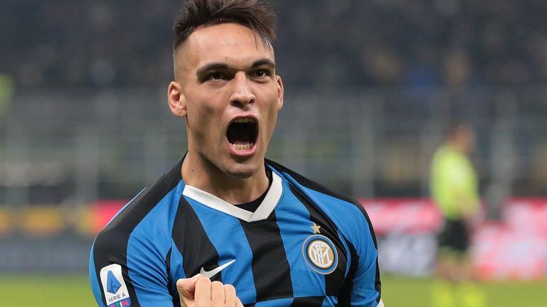 Inter striker Lautaro Martinez