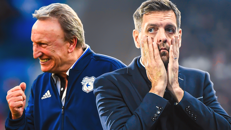 Neil Warnock has replaced Jonathan Woodgate at Middlesbrough