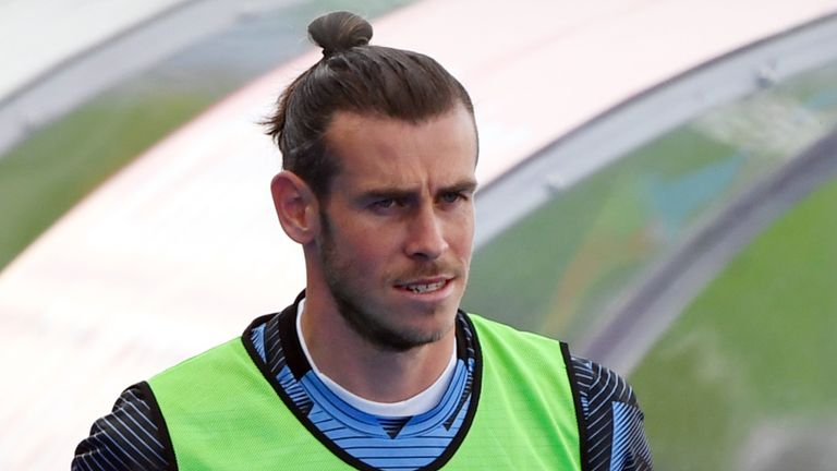 Real Madrid winger Gareth Bale