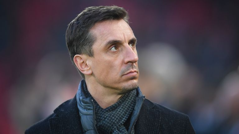 Gary Neville has called for action to tackle the lack of diversity at boardroom level
