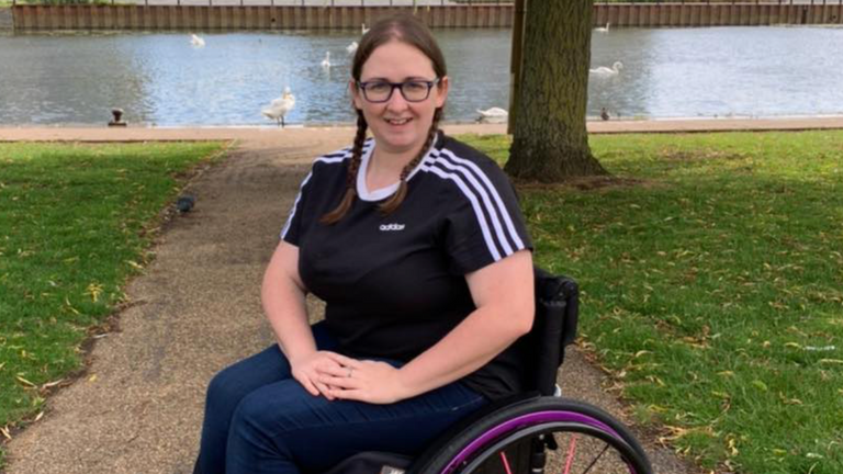Gemma Stevenson says receiving the first ever Thomas Read bursary five years ago has helped her 'live her best life'