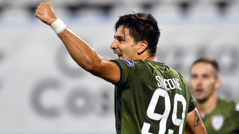 Giovanni Simeone gave Cagliari a 1-0 win at SPAL