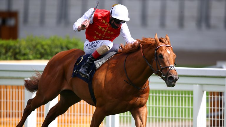 Golden Horde wins the Commonwealth Cup at Royal Ascot