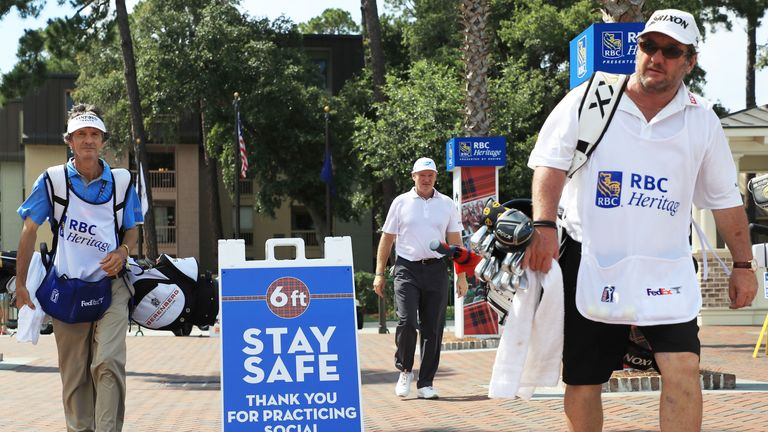 Health and safety protocols have been in place since the PGA Tour's resumption on June 11