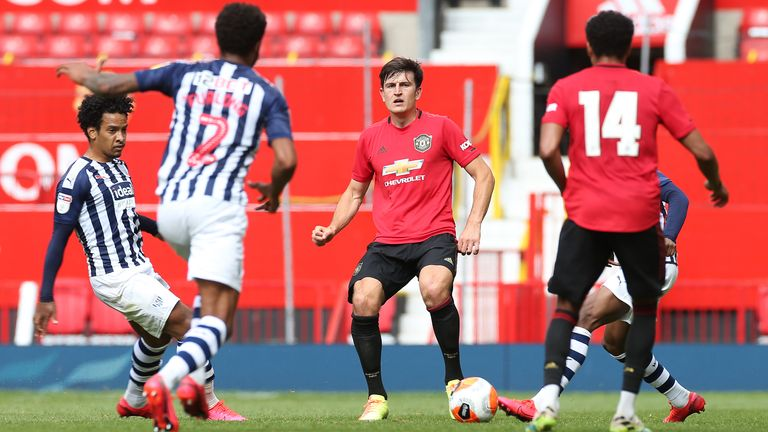 United skipper Harry Maguire back in action at Old Trafford