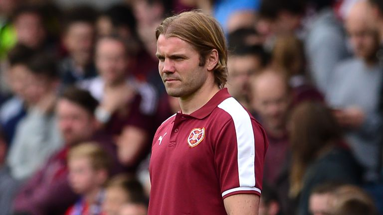 Robbie Neilson guided Hearts to promotion from the Scottish Championship in 2014/15, during his first spell at the club