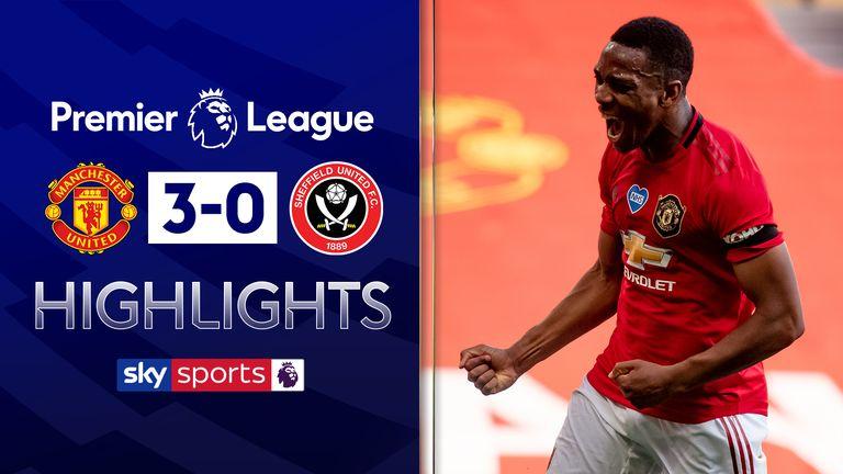 Manchester United v Sheff Utd highlights
