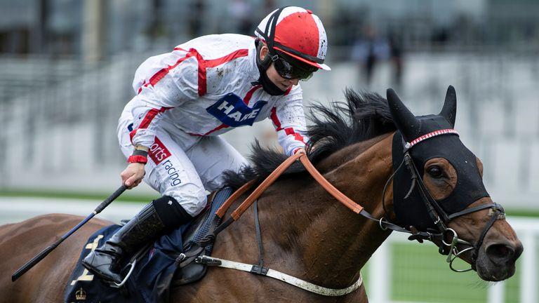 Hollie Doyle wins the Duke Of Edinburgh Stakes at Royal Ascot on Scarlet Dragon.