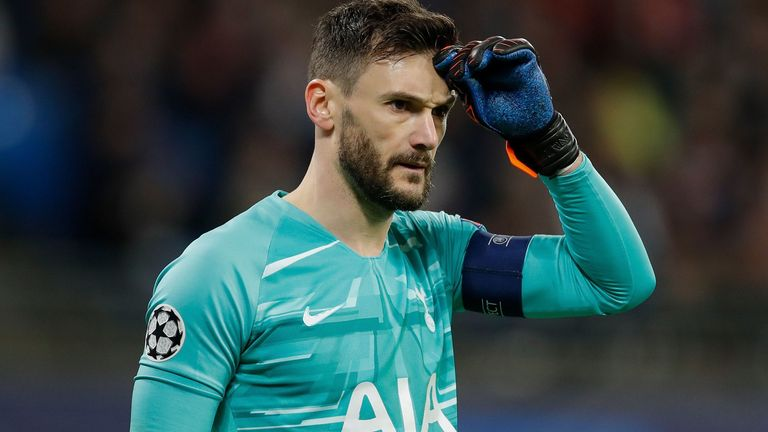 Hugo Lloris captained Tottenham in the 2-0 defeat to Liverpool in the 2019 Champions League final
