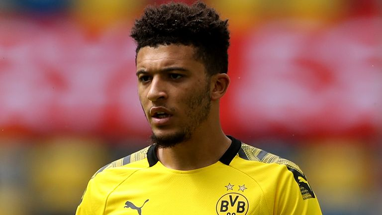 Jadon Sancho was unable to prevent a surprise defeat for Borussia Dortmund