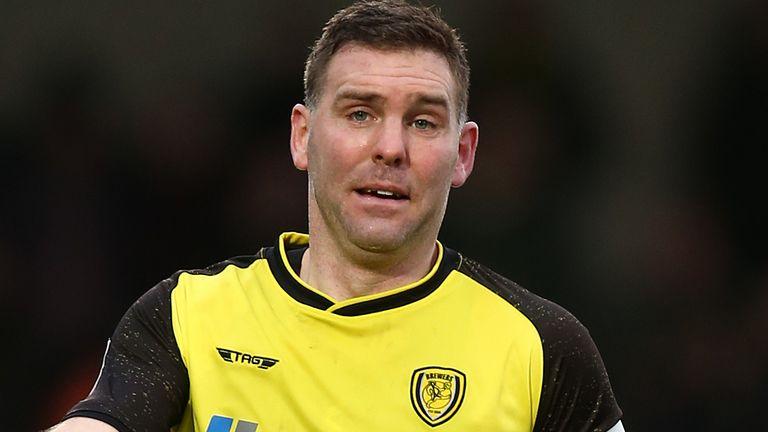 Burton Albion player-manager Jake Buxton
