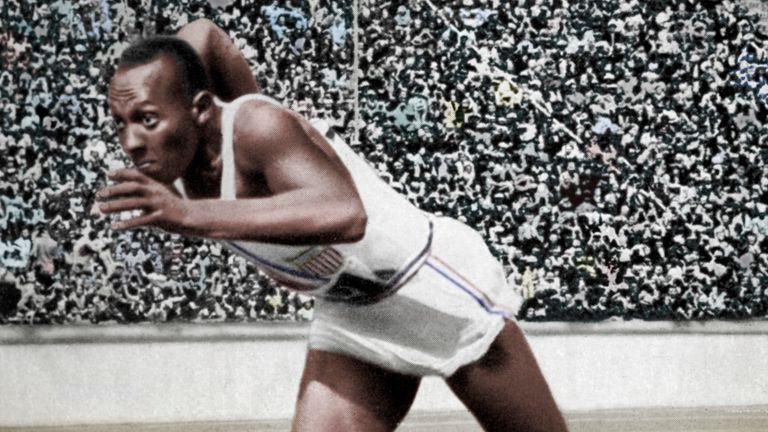 Jesse Owens went to the 1936 Olympics in Nazi Germany and won three gold medals