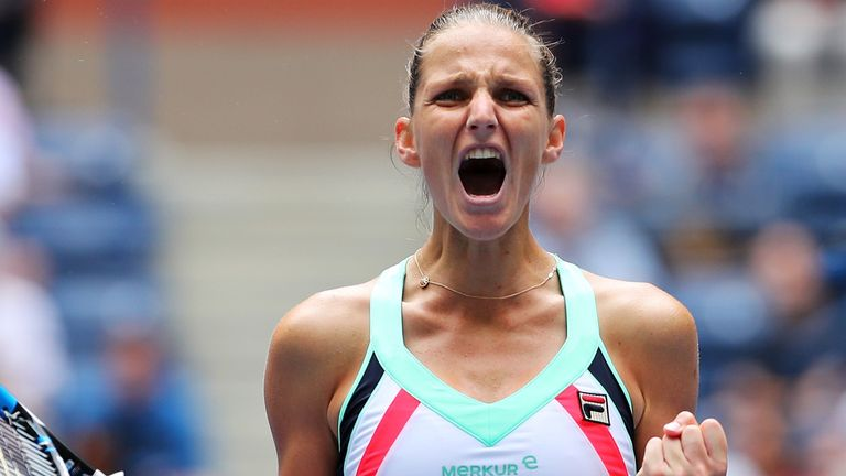 Karolina Pliskova has hit out at male tennis players who complain about women claiming equal prize money