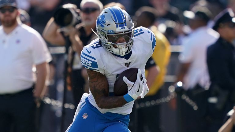Golladay starred for the Lions last season after being drafted in 2017